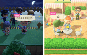 Characters from Animal Crossing New Horizons