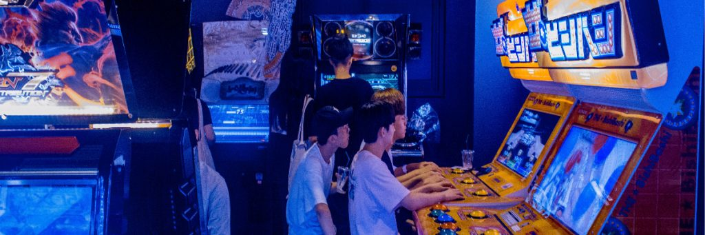 Image by Ciaran-o-brien of People on Arcade Games