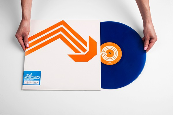 Shatter Limited Edition Vinyl, Image by Dan Adams on Behance