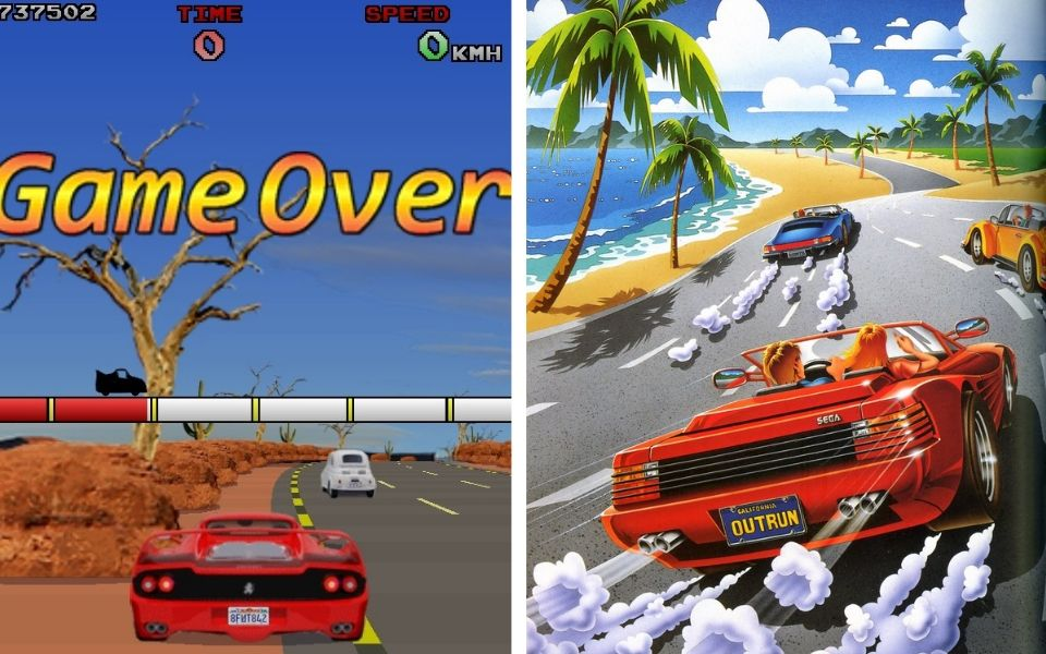 Artwork from Outrun