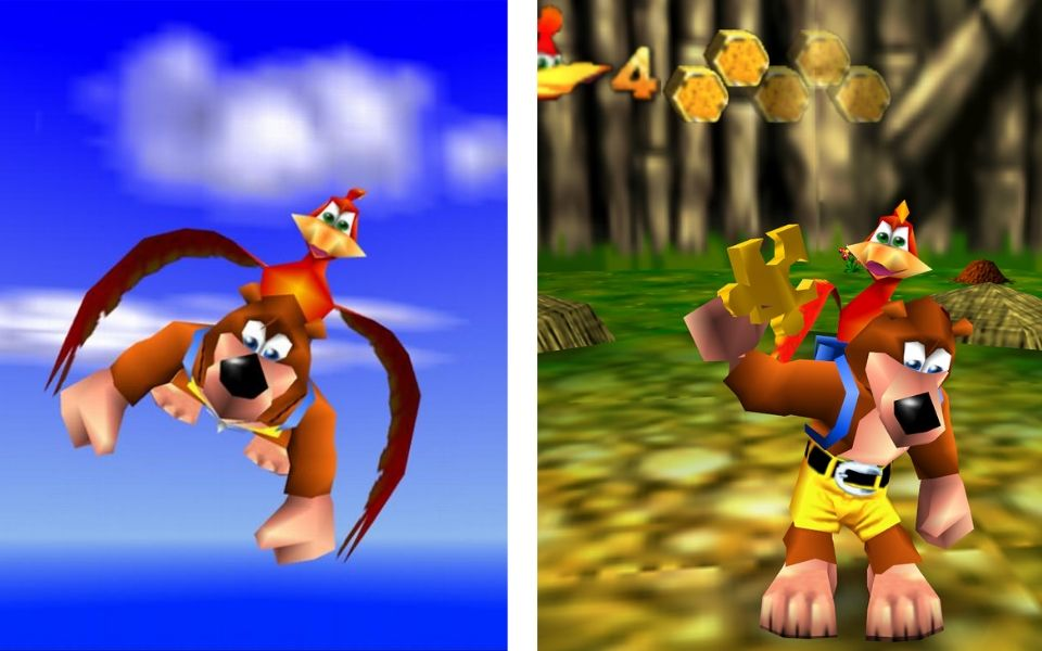 Banjo-Kazooie Gameplay
