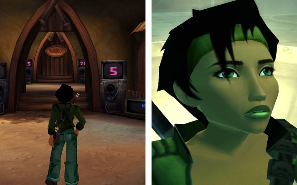 Beyond Good and Evil Game Game Play