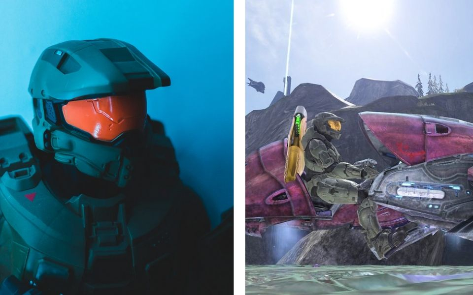 Images of Halo and Gameplay