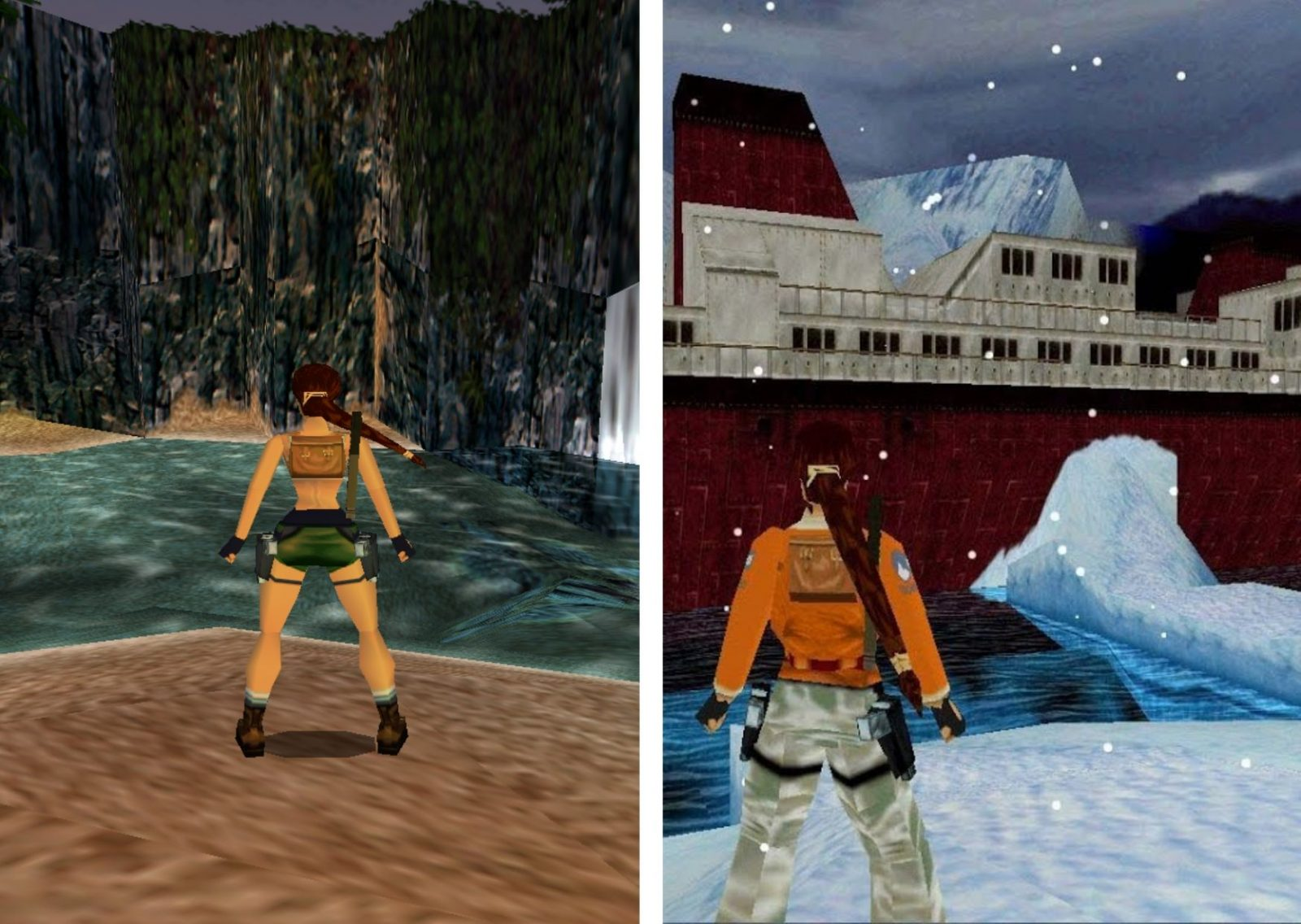 Screen Cap from Lara Croft: Tomb Raider III, Square Enix