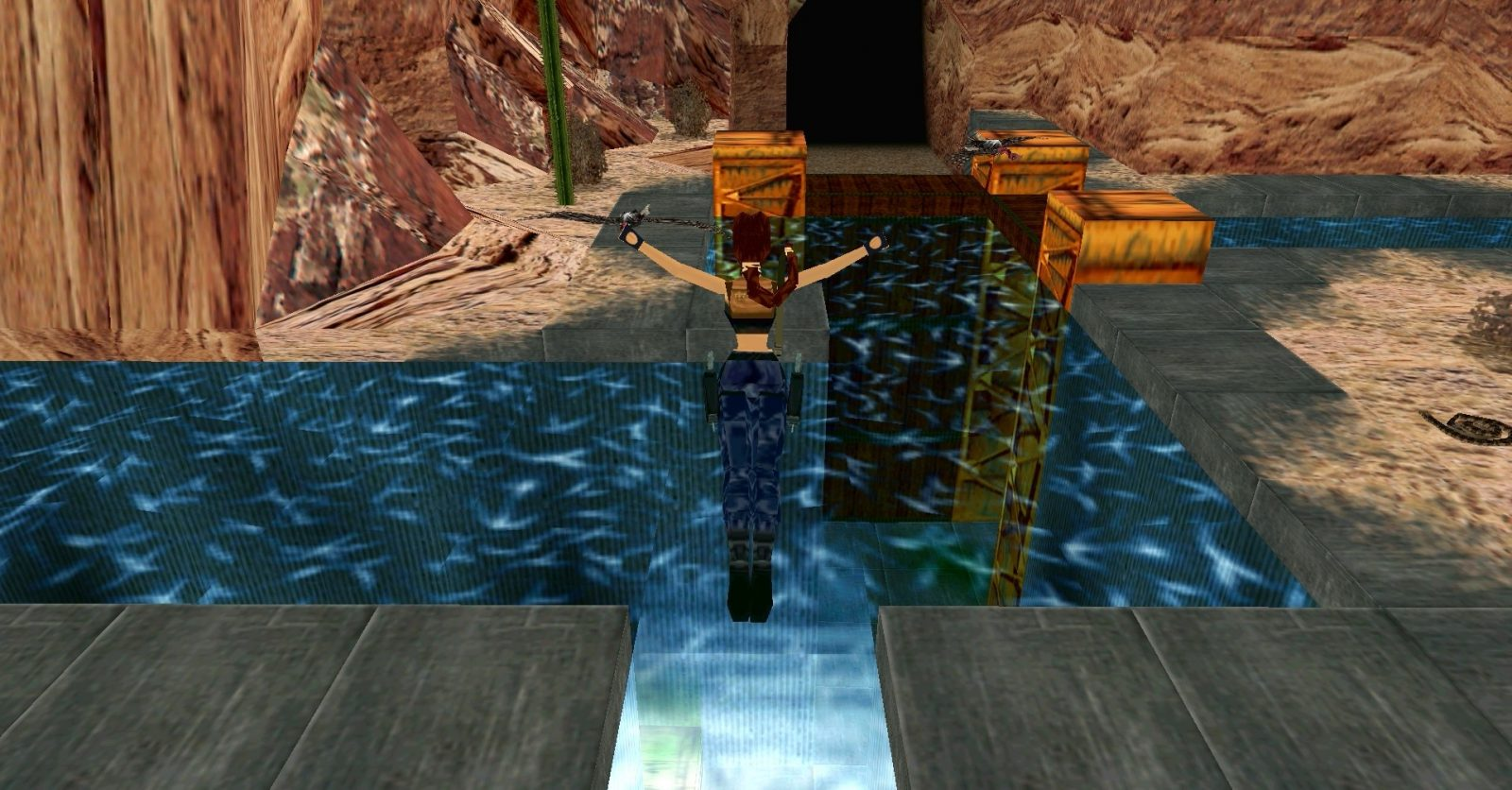 Screen Cap from Lara Croft: Tomb Raider III, Square Enix, via raidingtheglobe.com