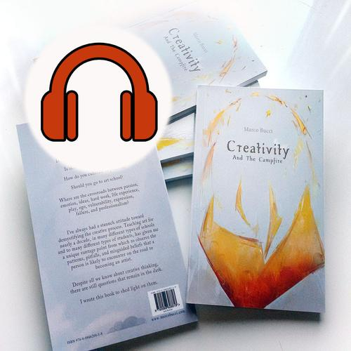 Creativity and the Campfire Audiobook tile